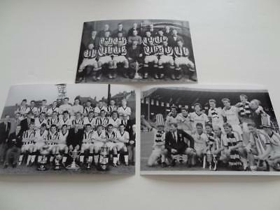 St Mirren Fc 1926 1959 1987 Scottish Cup Final Victories Team Photographs