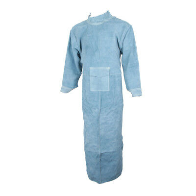85CM Leather Welding Apron Protective Safety Clothing Carpenter Tools Blue