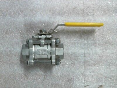 "Sharpe 53036 53036-SW 3/4"" Ball Valve 1000WOG CWP 316SS SOC CF8M - 60 day wnty"