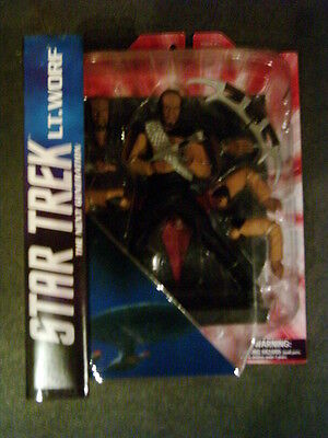 Star Trek - Figur - Lt. Worf aus TNG - Diamond Select Toys - OVP + NEU