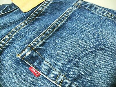 737202a7 VINTAGE Men LEVIS 501 STRAIGHT LEG 555 BIG E REDLINE Jeans 32 x 40 (Fit