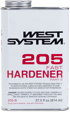West System 205 Fast Epoxy Hardener (.86 qt)