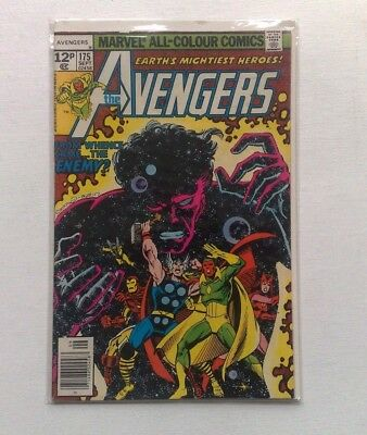 THE AVENGERS #175 MARVEL COMICS SEPT. 1978 1st PRINT FINE COPY BAGGED & BOARDED