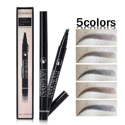 Hot Eyebrow Tattoo Pen Waterproof Fork Tip Patented Microblading Ink Sketch