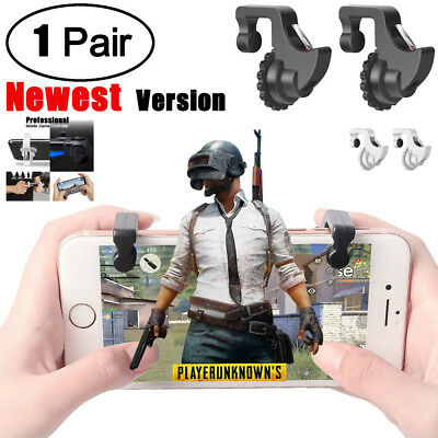 Mobile Game Controller Trigger Sensitive Shoot and Aim Buttons L1R1 For PUBG BK