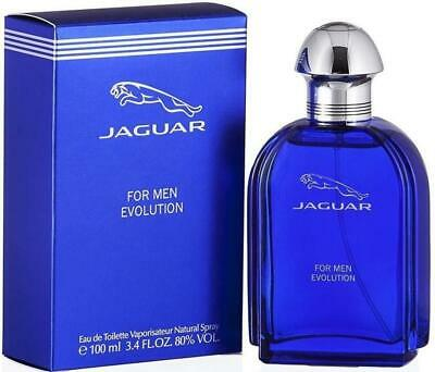 EVOLUTION Jaguar cologne men edt 3.4 oz 3.3 NEW IN BOX
