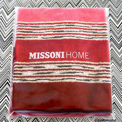 MISSONI HOME ASCIUGAMANO OSPITE HAND TOWEL BRANDED PACKAGING NORMAN 156 40x60 cm