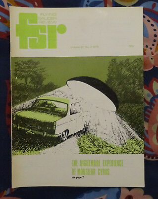 FLYING SAUCER REVIEW MAGAZINE Vol 22 No.2 1976 Nightmare Experience France FSR
