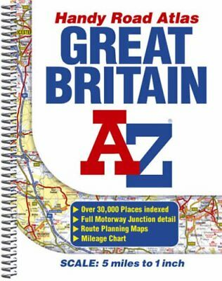 (Good)-Great Britain Handy Road Atlas (Street Atlas) (Spiral-bound)-Geographers'