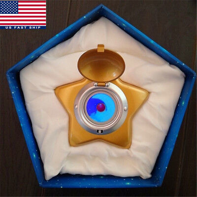 Sailor Moon Cosplay Moonlight Memory Star Locket Starlit Sky Music Box Gift US