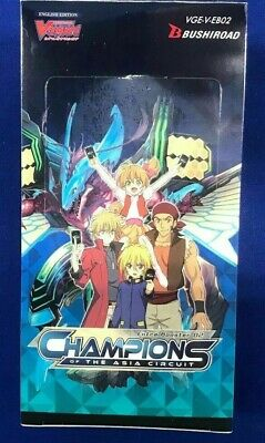 Cardfight Vanguard Champions Of The Asia Circuit Factory Sealed Booster Box