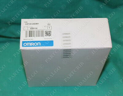 Omron, CS1W-OD261, PLC Output Unit Module Card 24VDC NEW