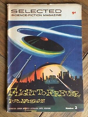 Australian Selected Science-Fiction Magazine No.2 - 1950's - Poul Anderson