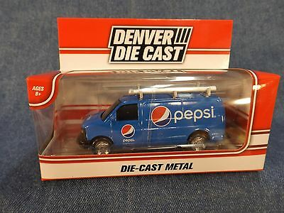 Pepsi Die-Cast Van - New In Box - Denver Die Cast - 2016