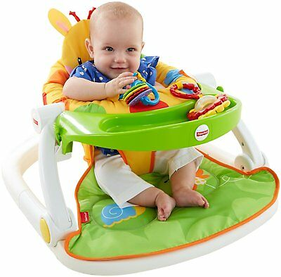 Bébé Play Alimentation Chaise Sit Me Up Sol Siège Support Fisher Price Jouet