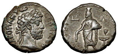 Commodus Bi Tetradrachm. Alexandria Mint (L963)