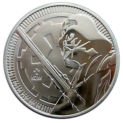 Niue Island 2018 Star Wars Darth Vader 1oz Silber Eur 24