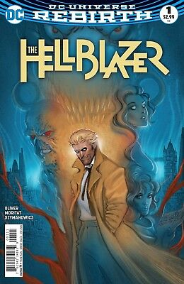 HELLBLAZER #1, First Print, DC REBIRTH