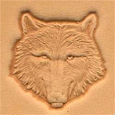 Tandy Leather Wolf Head Craftool 3-d Stamp 88459-00 - 3d 8845900
