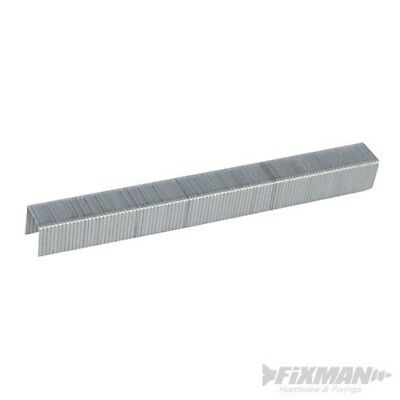 Fixman 983163 10j Galvanised Staples 11.2 x 10 x 1.16mm Pack Of 5000 - 5000pk