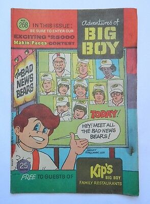 Vintage & Rare Adventures Of Big Boy Advertising Comic # 268 1979