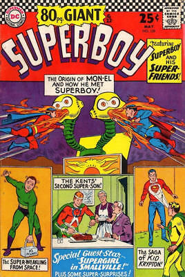 Superboy # 129 (1966) 2 GD DC Silver Age Comic [Giant]