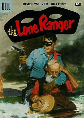 The Lone Ranger # 106 (1957) 4.5 VG+ Dell Silver Age Comic [Western]