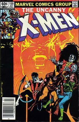 The Uncanny X-Men # 159 (1982) 9.2 NM- Marvel Bronze Age Comic [Dracula]