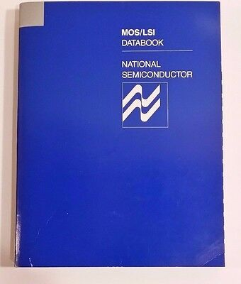 1977 National Semiconductor MOS/LSI Data Book