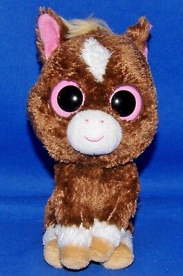 77c2cf9e2ea TY BEANIE BOO Rootbeer the Brown Dog 2013 Original Solid Eyes 6 ...