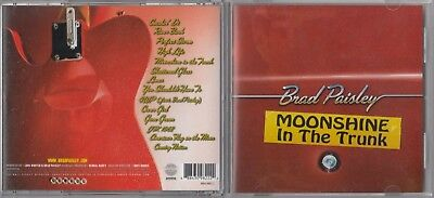 Brad Paisley - Moonshine In The Trunk Cd 2014