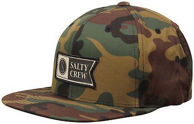 new style 85d7e 94037 ... denmark salty crew alpha stamped hat camo new afedb 0330a