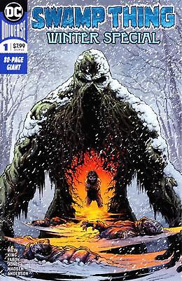 SWAMP THING WINTER SPECIAL #1 80 PAGE GIANT TOM KING JASON FABOK 1st PRINTING