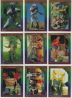 """(32)ct 1994 SABAN MIGHTY MORPHIN POWER RANGERS """"POWER FOIL"""" CARD LOT! NO DUPES!!"""