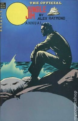 Official Jungle Jim Annual #1 1989 VG Stock Image Low Grade