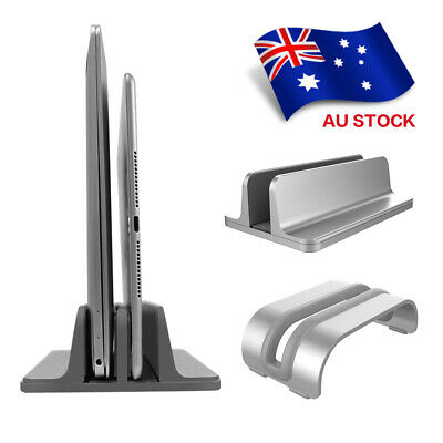 Adjustable Vertical Laptop Stand Space-saving Desktop Holder Stand For MacBook