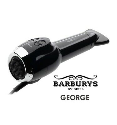 Barburys George Barbers Hair Dryer - NO HANDLE - 109.2 m3/h airflow - 2000 watt