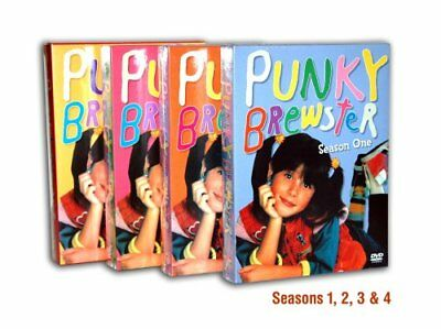 PUNKY BREWSTER Complete Series Seasons 1-4 DVD Bundle BRAND NEW Free Ship