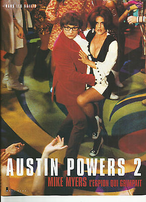 Austin Powers 2 - Mike Myers / 1999 Article Presse Reportage