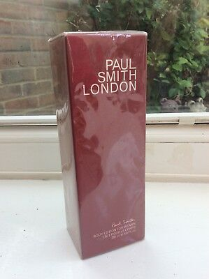 PAUL SMITH LONDON BODY LOTION FOR WOMEN 200ml BRAND NEW & SEALED - Discontinued