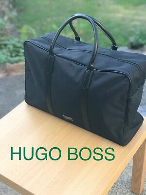 🆕Hugo Boss Mens Weekend Holdall Sports Gym Travel Bag Black FREE DELIVERY!!