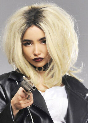 Womens Deluxe Bride of Chucky Style Wig