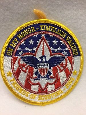 Boy Scouts - 2002 On My Honor - Timeless Values / Friends of Scouting patch