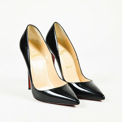 7a42511316ca Christian Louboutin  625 Black Patent Leather