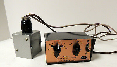 Ameco   Model  Pcl   1.8-54  Mhz   Receiver   Tunable   Preamplifier