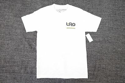 Lrg Lifted Research Group White Small 47 Tshirt Mens Nwt New