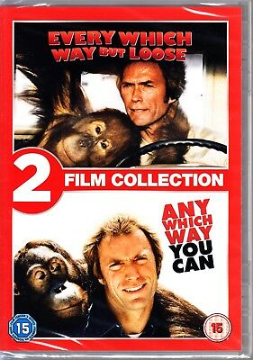 EVERY WHICH WAY BUT LOOSE / ANY WHICH WAY YOU CAN  Region 4 DVD  CLINT EASTWOOD