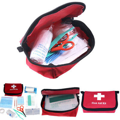 Kit Trousse Secours Sac Urgence First-Aider Premiers Soins Survie Maison Camping