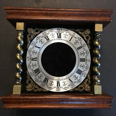 Used Zaanse Dial And Front Case With  Side Glass For Parts Or Repair