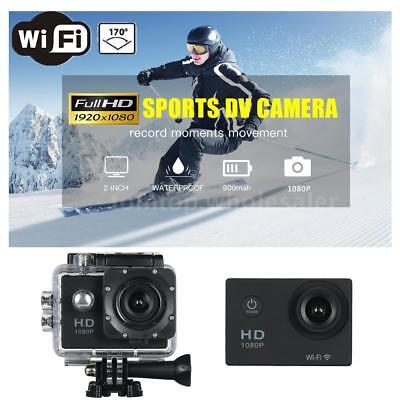 WiFi 1080P Full HD DV Sport Recorder Car Waterproof Action Camera Camcorder A7N0